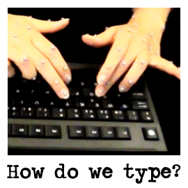 How we type